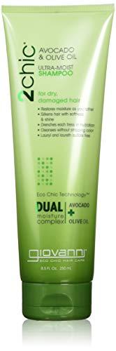 Giovanni 2Chic Avocado und Olivenöl Ultra Moist Shampoo 250ml (Giovanni Styling Gel)