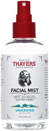 Thayers Alcohol-Free Unscented Witch Hazel Facial Mist Toner - 8 oz