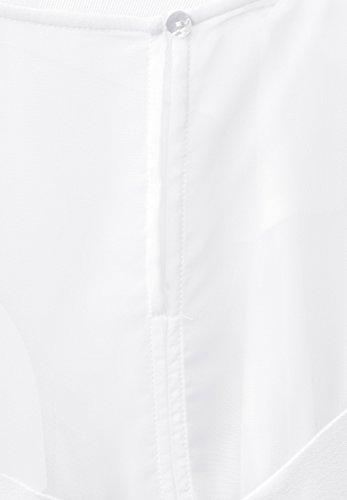 Street One Damen Strukturmix Longtop white (weiss)
