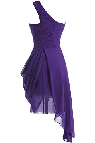 Sunvary Spring-One-Borsa a tracolla da donna in simil Chiffon Homecoming-Cocktail Party Dresses Purple