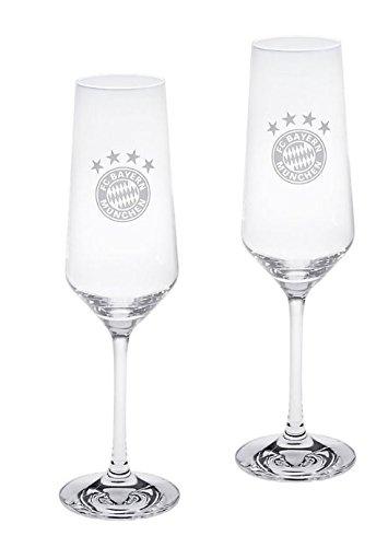 FC Bayern München Sektglas 2er-set