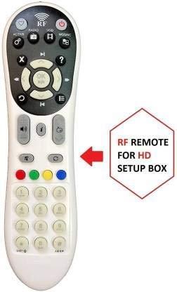 e-remote Remote Control Compatible for Videocon D2h RF Box