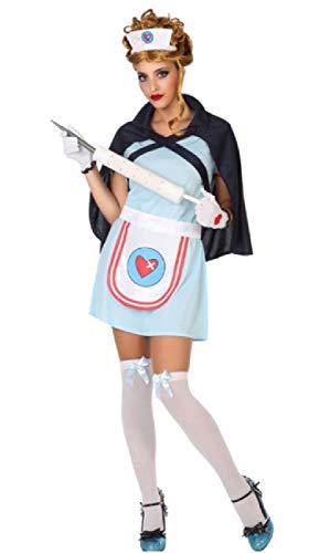 Fancy Me Sexy Krankenschwester Beruf Ärzte & Krankenschwestern Rollenspiel-Schlafzimmer Junggesellinnenabschied Kostüm-Kostüm Outfit UK 8-18
