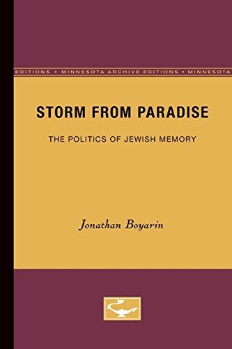 Storm from Paradise: Politics of Jewish Memory