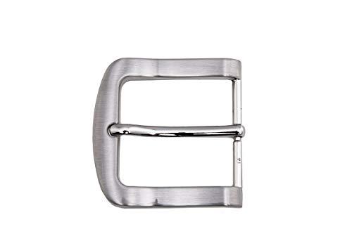 shenky - Hebilla para cinturón - Para cinturones de 4 cm de ancho - 4157