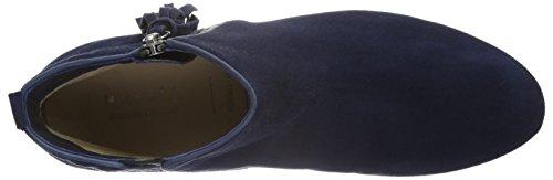 Hassia Damen Fermo, Weite G Kurzschaft Stiefel Blau (Nachtblau)
