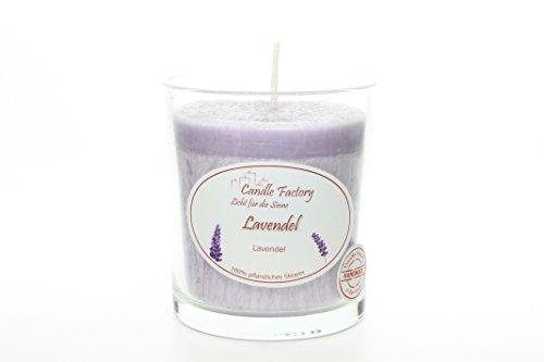 Light Duftkerze im Glas Duft: Lavendel ()