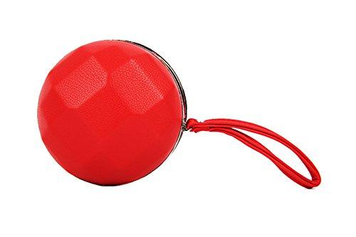 Flada, Poschette giorno donna rosso 13# medium 6#