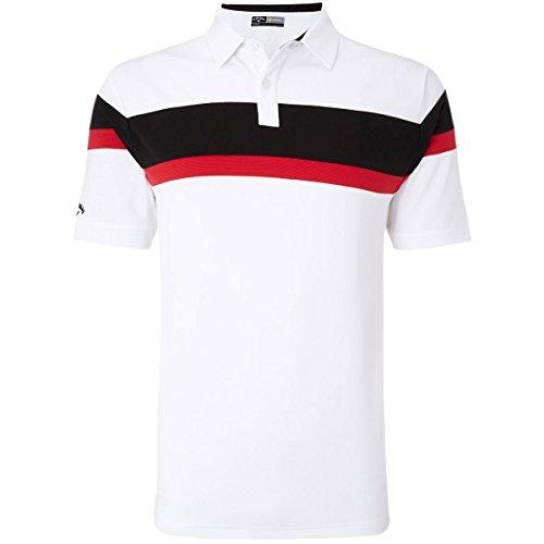 Callaway Apparel Herren Poloshirt Weiß - bright Weiß