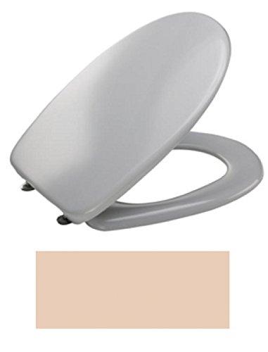 MKW Euro 3000 Plus WC-Sitz mit Deckel, bahamabeige