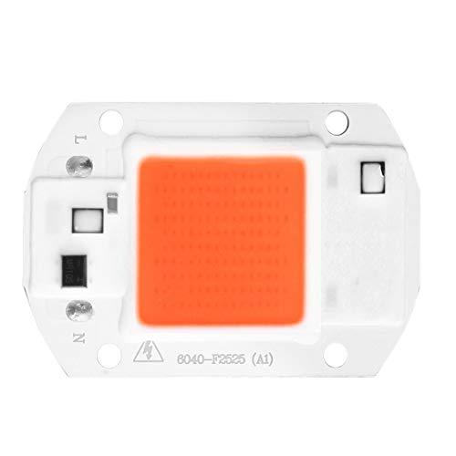 Hohe Leistung-volle Spektrum PFEILER LED Anlage wachsen hellen DIY Chip 380nm-840nm für Zimmerpflanzen-Sämling wachsen und blühen 20W – Weiß u. Orange