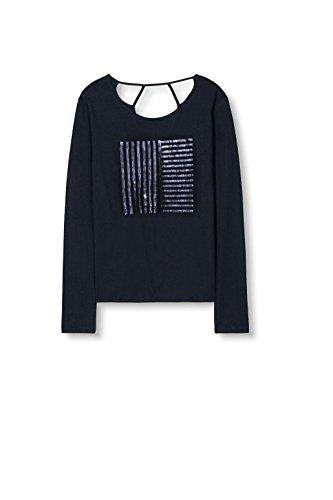 edc by ESPRIT Damen T-Shirt Blau (navy 400)