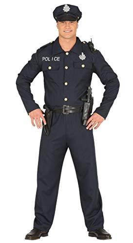 Fiestas Guirca Kostüm amerikanischer Polizist Polizist Erwachsener