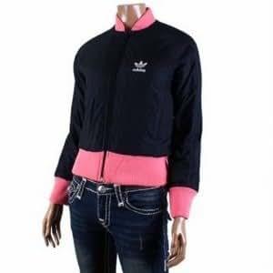 Adidas Dance 83–Veste et de temps libre pour femme, couleur noir/rose M noir/rose