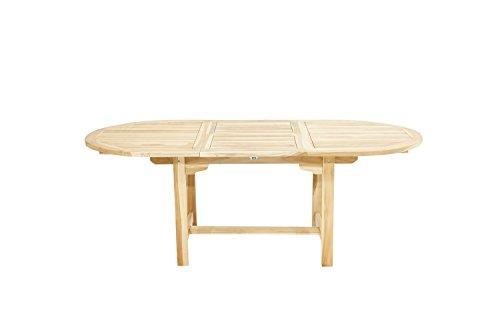 Ploß Table Extensible Louisiane Eco ovale 150 cm à 210 cm – Bois de ...