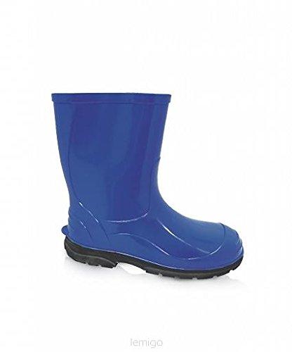 LEMIGO , bottes en caoutchouc mixte enfant Bleu - Bleu