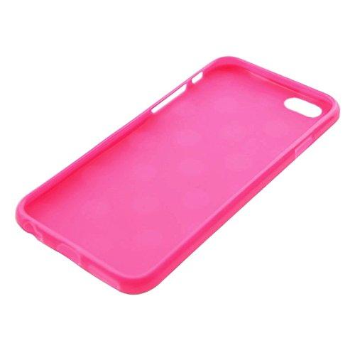 MXNET Fall für iPhone 6 u. 6s, blaues und weißes Tupfen-Muster-glattes TPU Abdeckungs-Fall ,Iphone 6/6s Case ( SKU : S-IP6G-0115M ) S-IP6G-0115M