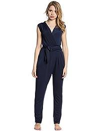10079f2af44bd7 Abbino 8224 Jumpsuits Einteiler Damen - Made in Italy - Viele Farben -  Stilvoll Modern Übergang