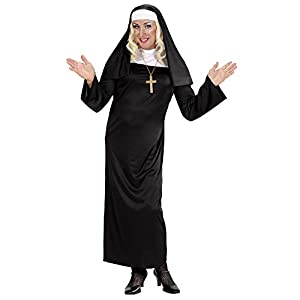 WIDMANN Disfraz de Monja recatada para Mujer - S