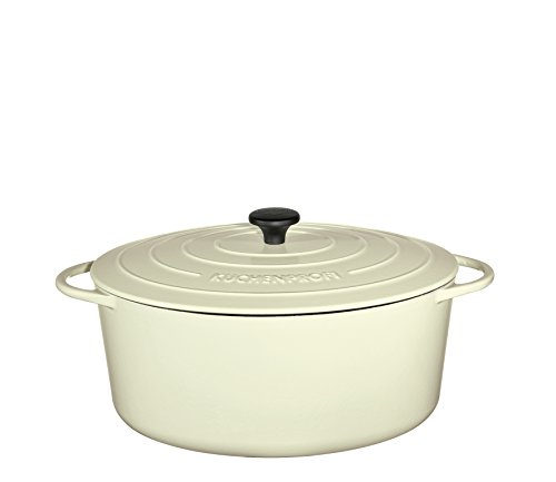 Küchenprofi Bratentopf oval, 33cm Provence Creme