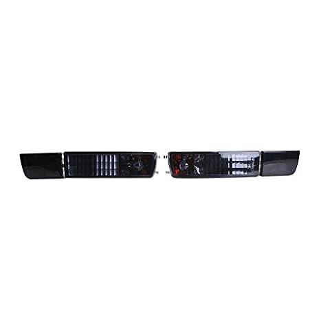Vorne Stoßfänger schwarz Nebel Licht/Lampe für VW Golf