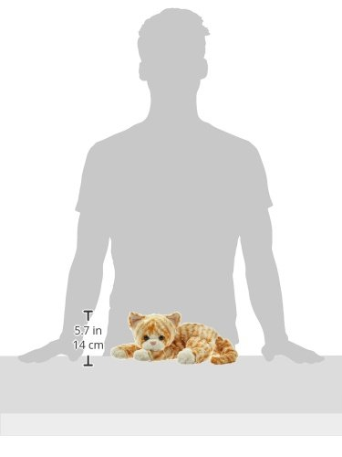 Ty UK 10031 - Katze Cobbler hellbraun gefleckt, 36 cm - 2