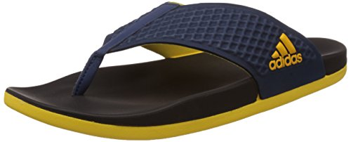 fd7b07a62c2e3 Adidas 4055341090247 Mens Adilette Sc Thong Blue Yellow And Black Flip Flops  And- Price in India