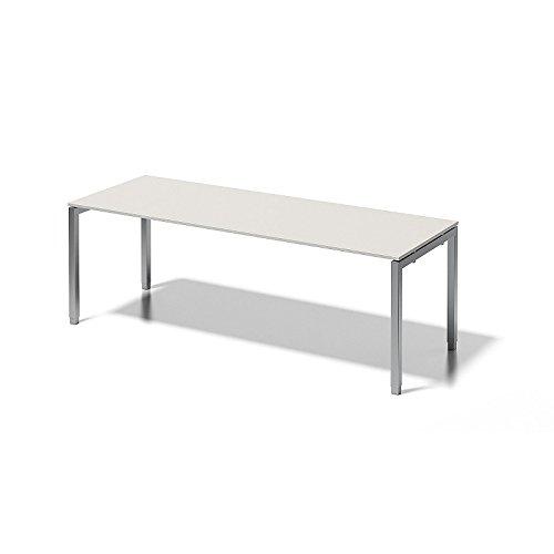 Bisley Cito Schreibtisch, 650-850 mm Höheneinstellbares U H 19 x B 2200 x T 800 mm, Dekor...