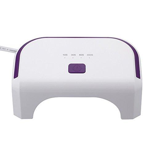Anself 100-240V 12W LED inchioda Macchina Dryer cura la lampada