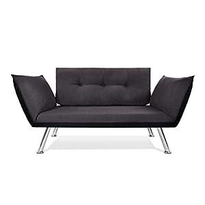 Easysitz Sofa 2 Sitzer Schlafsofa Zweisitzer Klein 2-Sitzer Couch Schlafsessel Bettsofa Futon Bed Sessel Sitz Kleines…