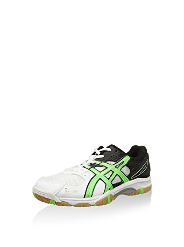 Asics Volley Gel-Task, Baskets Pour Homme - Blanc Blanco / Verde / Negro