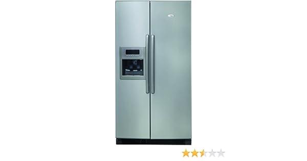 Amerikanischer Kühlschrank Whirlpool : Whirlpool ru d j side by side a kühlen l gefrieren