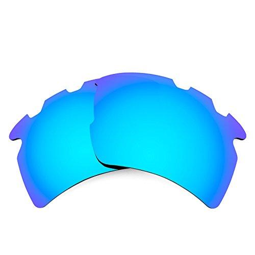 Revant Ersatzlinsen für Oakley Flak 2.0 XL Vented Polarisierung Elite Eisblau MirrorShield®