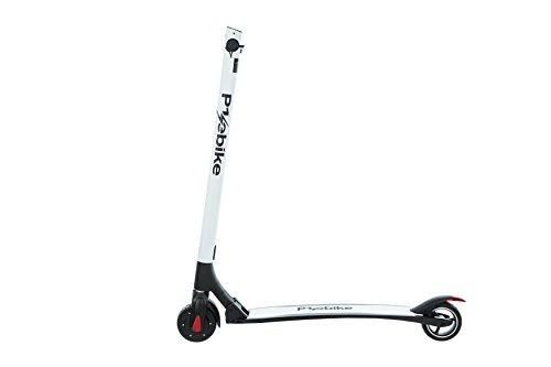 E-Scooter Klappbar Roller Scooter Elektroroller Carbon - Reichweite bis zu 40km 25 km/h P1 PowerOne (Weiß)