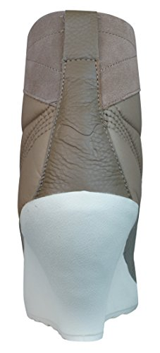 Puma Karmin Bellows Wedge Bottes Femmes - Chaussures Marron