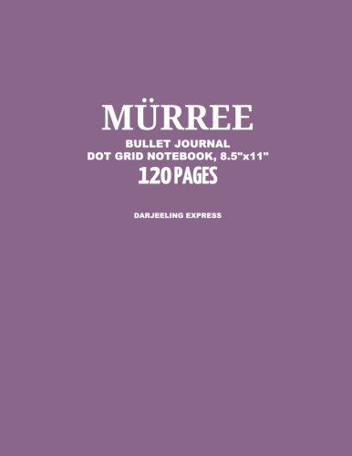 Murree Bullet Journal, Darjeeling Express, Dot Grid Notebook, 8.5