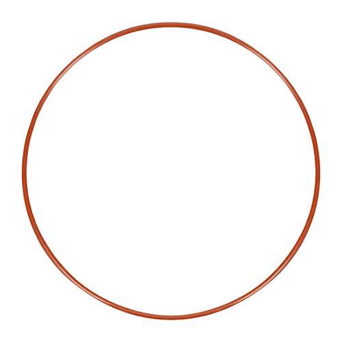 Sourcingmap - Junta sellado silicona 8 mm 200 mm diámetro