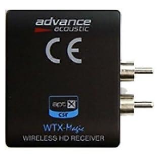 Advance Acoustic WTX 500 Magic schwarz AptX Bluetoothempfänger