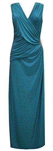 Baleza - Robe - Femme bleu sarcelle
