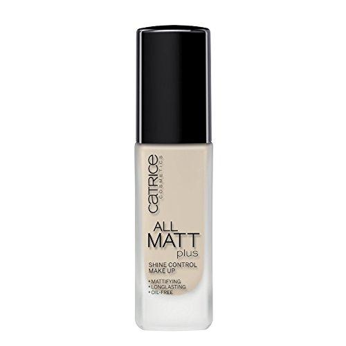Catrice All Matt Plus Shine Control Flüssige Found ation NR. 010 - LIGHT BEIGE 30 ml (Beige Foundation Matt)