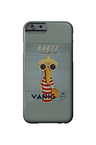brazil-varig-norte-artist-petit-vintage-advertisement-iphone-6-cell-phone-case-slim-barely-there