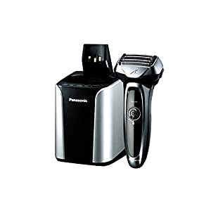Panasonic ES-LV95-s Wet and Dry Electric 5-Blade Shaver with Cleaning and Charging Stand