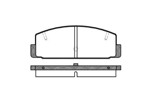 Preisvergleich Produktbild Remsa Bremsbelagsatz für Scheibenbremse,  0179.20