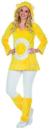 bärchi Kostüm Größe L Damen Sunshine gelb Bär Karneval Fasching ()