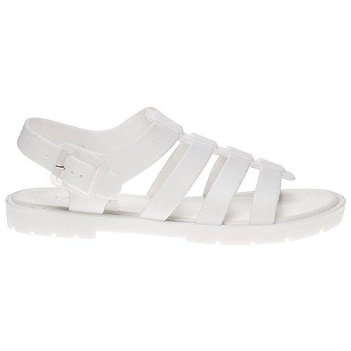 Sole Phiphi Damen Sandalen Weiß Weiß