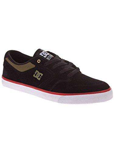 DC Shoes Nyjah Vulc, Chaussures de skateboard homme Noir
