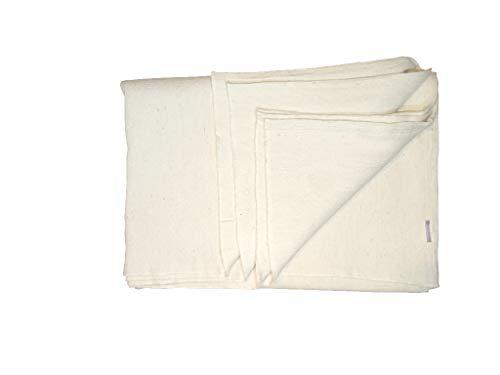 Yoga-Decke aus Baumwolle, regulär, 100% Baumwolle, regulärer Stoff, 0,5 x 220 x 150 cm, Original Iyengar Yoga-Requisiten