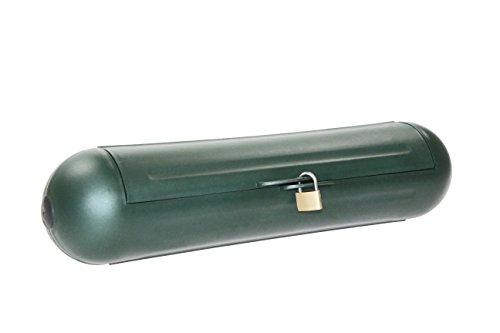 as - Schwabe Sicherheitsbox für Blaue Camping CEE Stecker, Kupplung und Verlängerungskabel, spritzwassergeschützt, 1 Stück, grün, 48708