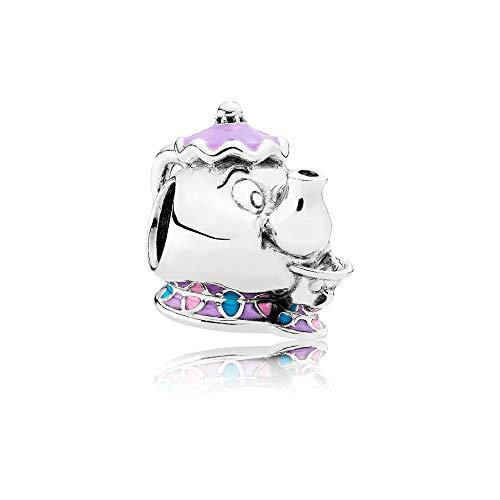 Pandora Charm 925/ Silber Disney, Madame Pottine und Tassilo 792141ENMX - Pandora Charms Disney Silber