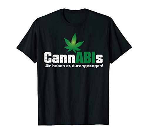 Abitur 2020 - Cannabis Wir haben es durchgezogen Motto T-Shirt